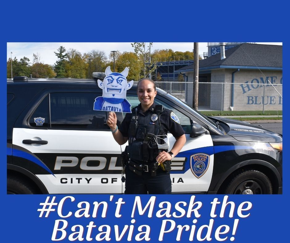#Can't Mask the Batavia Pride!