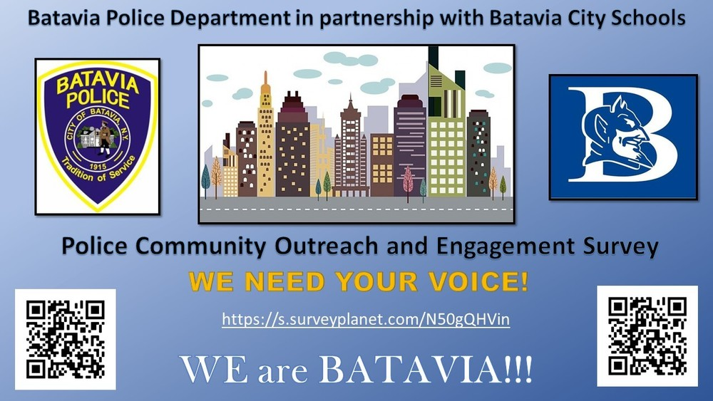 Batavia Police Community Outreach and Engagement Survey
