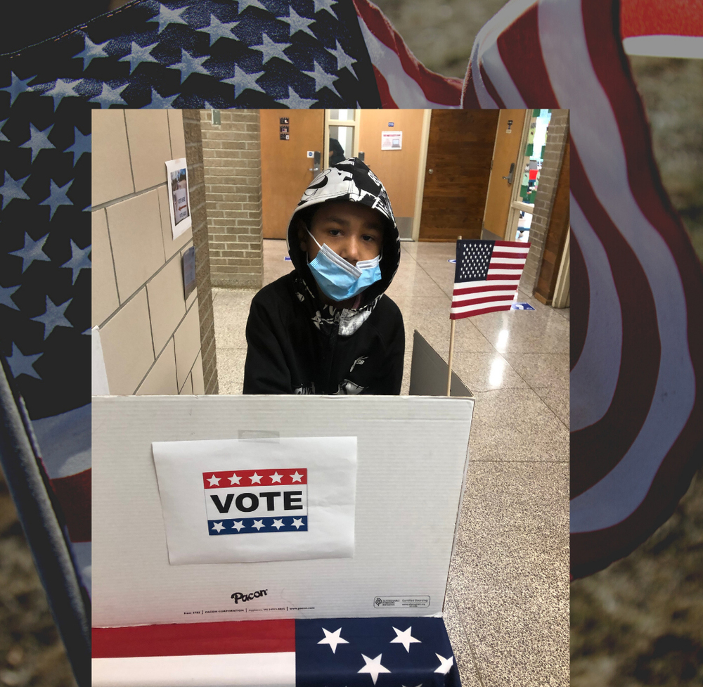 "Second Graders Get a ""Taste"" for Voting"